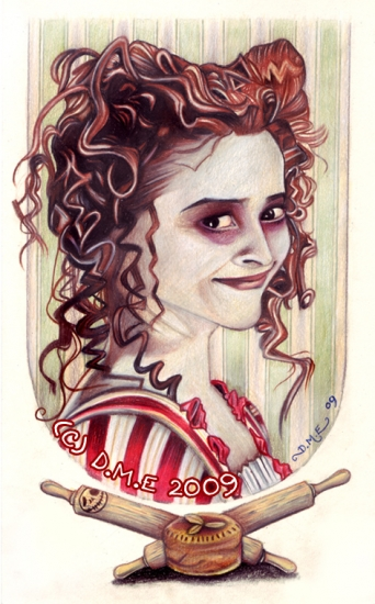 Helena Bonham Carter by donnamevans